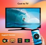 screenshot of Cast to TV - Chromecast, Roku, Apple TV, DLNA, Web