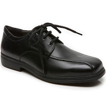 Geox Federico Leather Shoe SCHOOL LACE UP