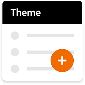 Theme — Black Orange