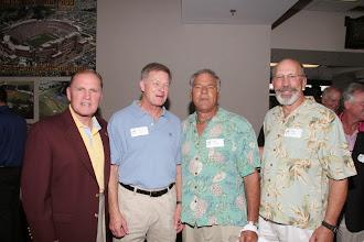 Photo: Reunion: 1967,68, & 69 Football teams.