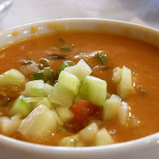 Gazpacho, A Simple And Refreshing Soup.