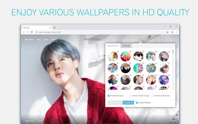 Bts Jimin Wallpaper Hd Custom New Tab