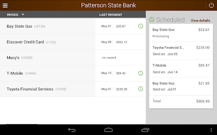 Patterson State Bank Mobile Screenshot 14