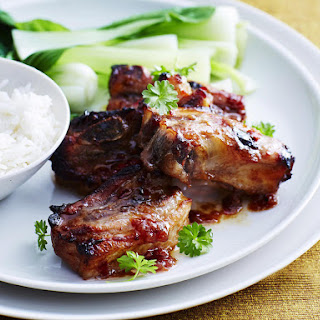 Spare Ribs with Chili Plum Sauce