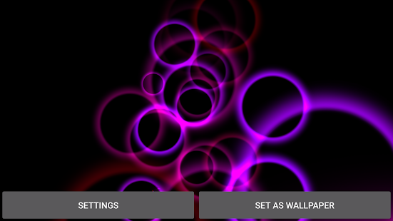 Abstract Gyro 3D  Live Wallpaper Screenshot