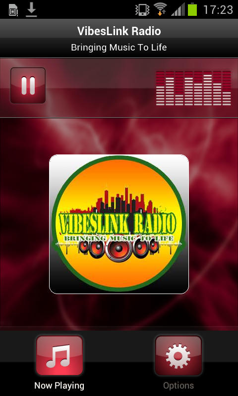 VibesLink Radio- screenshot