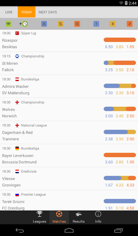 Bet Data - Betting Tips, Statistics, Live Scores- screenshot