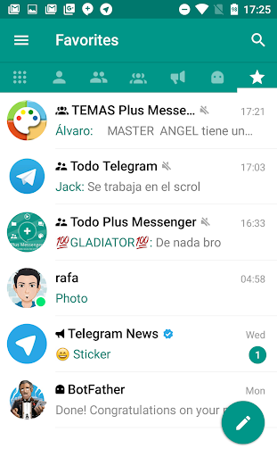 Plus Messenger 5.7.1.3 screenshots 1