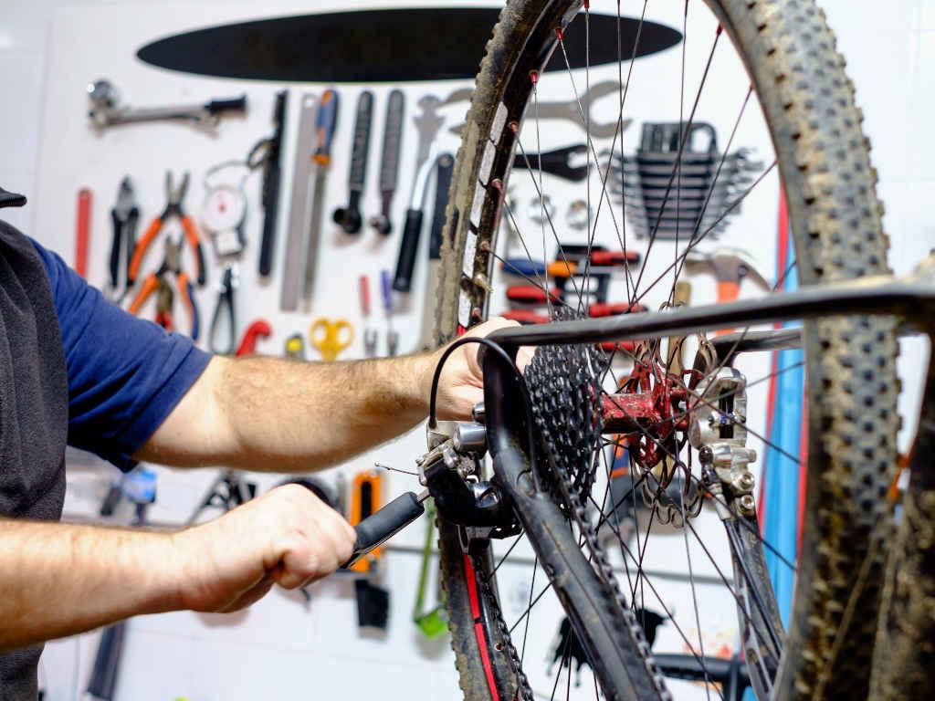 Уход за велосипедом смазка