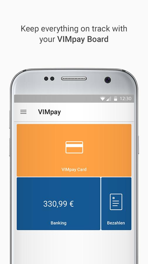 VIMpay- screenshot