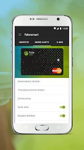 Fidor Smart Banking - náhled