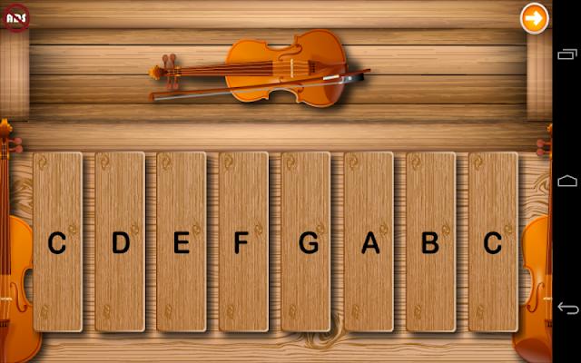 Toddlers Violin - screenshot