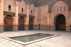 Visiter Medersa Ali Ben Youssef