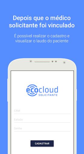 ecocloud solicitante screenshot 3