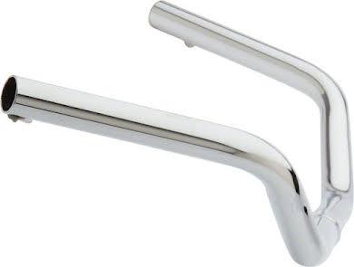 "Wald 872 Cruiser Steel Handlebar:  24"" Wide, 3"" Rise, 1"" Clamp, Chrome alternate image 0"