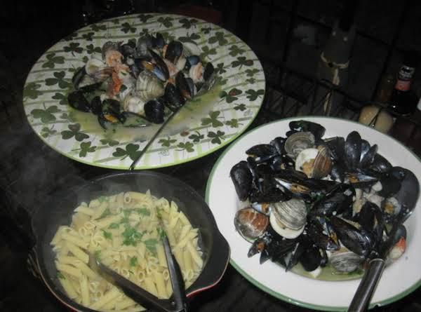 Seafood Scampi Recipe