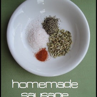 Homemade {SPICY} Sausage Seasoning.