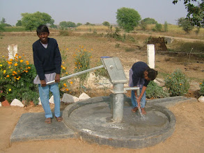 Photo: The new water pumps at the school