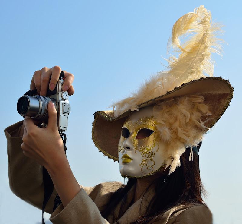 Fotografa mascherata di Rossella13