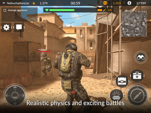 Code of War: Sniper Games Online - screenshot