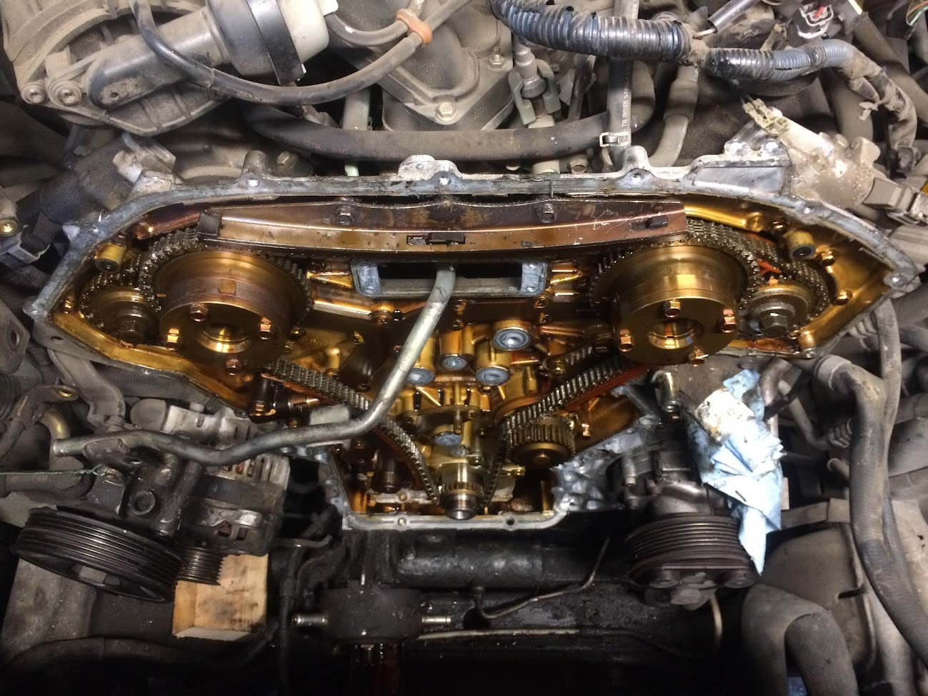Timing Chain Noise Guides And Replacement Second Generation 06 15 2005 I Went Ahead Got Quotes For Equipment Report This Image