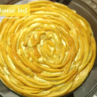Mango Mousse Tart (No Bake - No Cook).