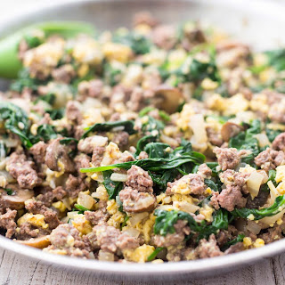 Scrambled Eggs Ground Beef Recipes.