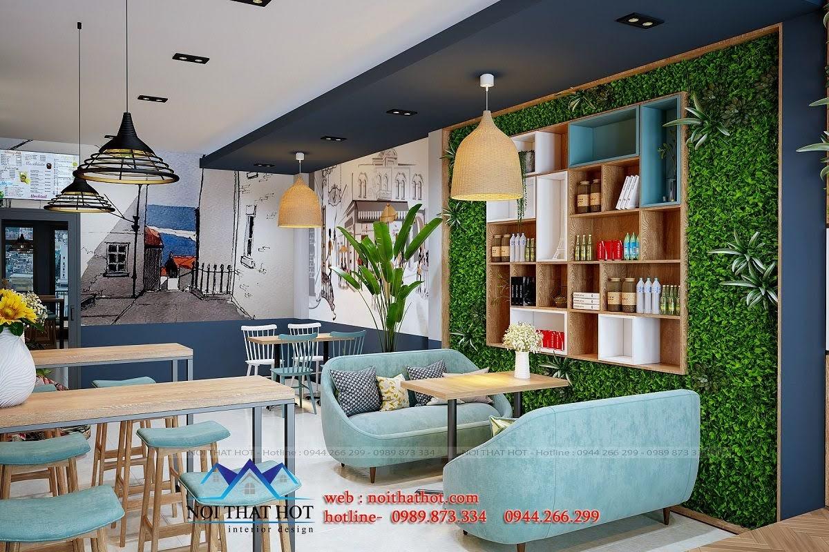 thiết kế quán trà sữa 5