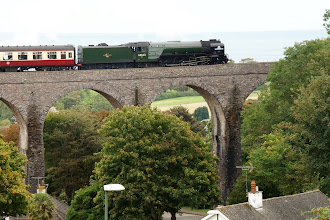 Photo: Tornado Hauling The Cathedrals Express