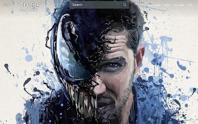 Venom Wallpapers Theme New Tab