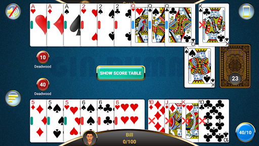 Gin Rummy  gameplay | by HackJr.Pw 9