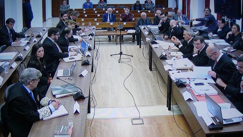 Imagen del juicio del Caso Poniente.