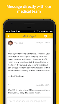 Lemonaid: same day online care image