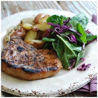 Marinated Pork Chops Grilled