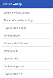 apps for creative writing Our handpicked list of some of the best writing apps for children.