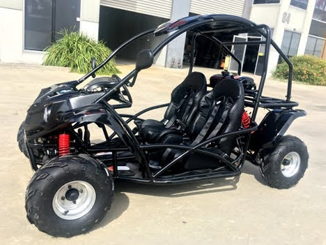 125cc Kids Dune Buggy Kinroad Sahara Go Cart with Rollcage