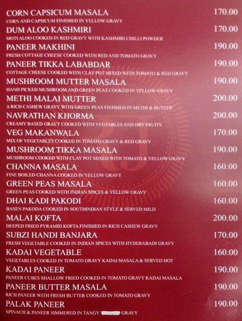 Rajesh Thindi Manae menu 5