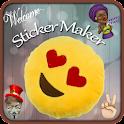 Emoji 3D Sticker Maker icon