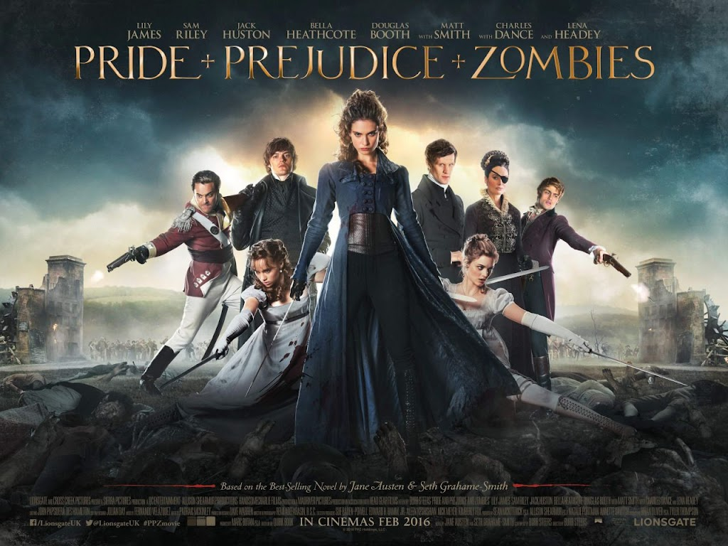 Pride and Prejudice and Zombies (2016) movie poster