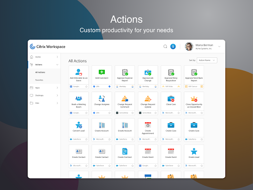 Citrix Workspace 19.09.0.0 Apk for Android 11