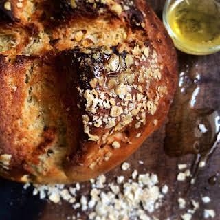 HONey and oats bread.