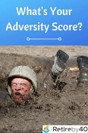 Qual é a sua pontuação de adversidade?