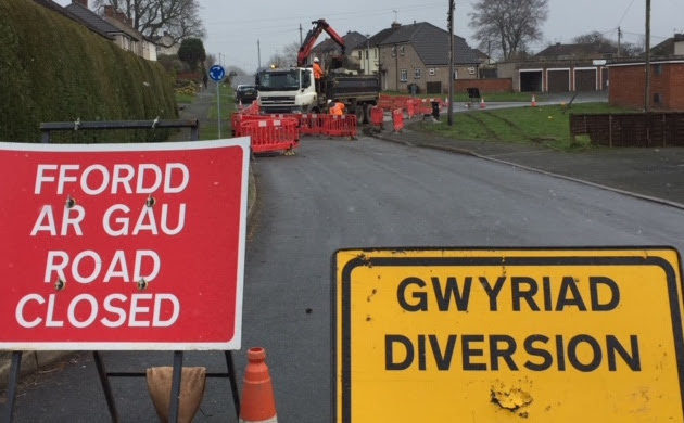 Work should be complete Wednesday: Severn Trent