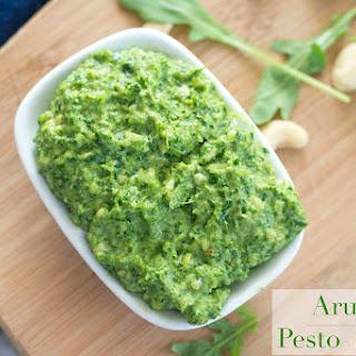 Arugula Pesto Spread Recipe With Cashews
