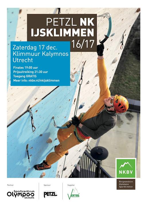 NK ijsklimmen 2016/2017