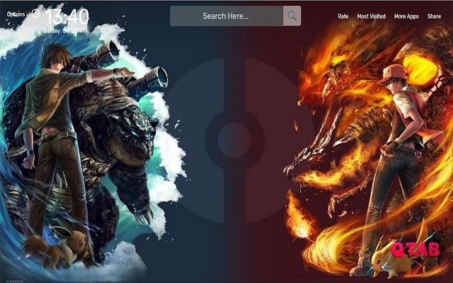 Pokemon Wallpapers HD Theme