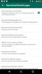 MacroDroid - Automatisierung Screenshot
