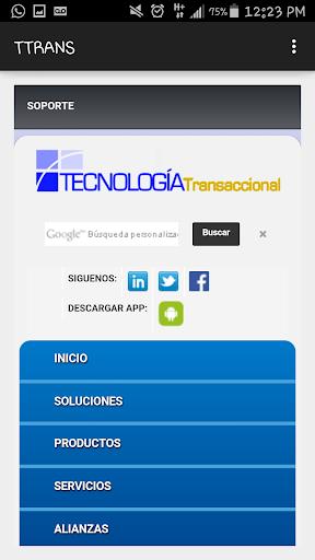 TECNOLOGIA TRANSACCIONAL APP