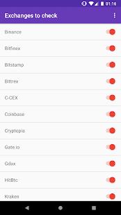 Crypto Arbitrage - náhled