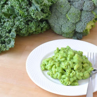 Healthy Mac and Cheese Recipe Green for St Patrick's Day!.